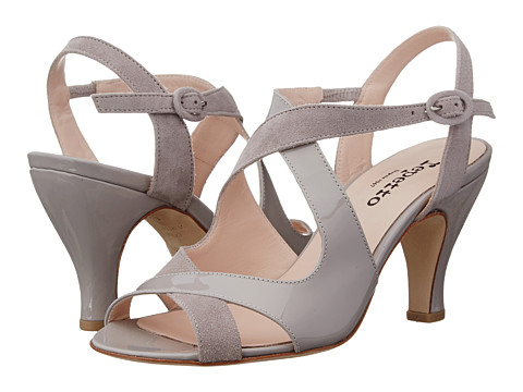 Repetto - Bamba (Patent/Suede Grey) High Heels