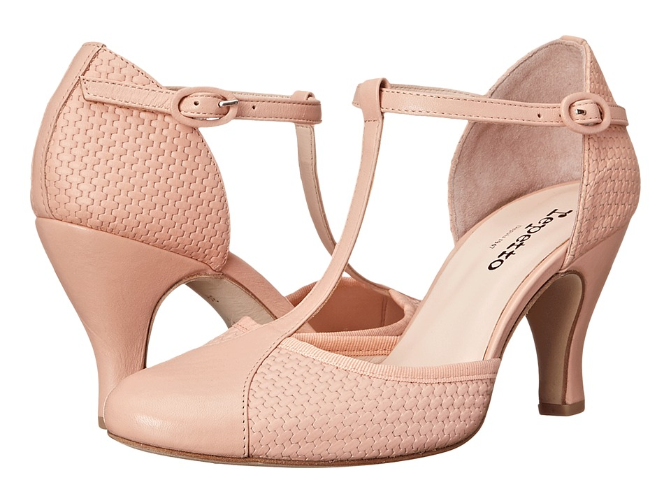 Repetto - Baya (Woven Leather Nude) High Heels