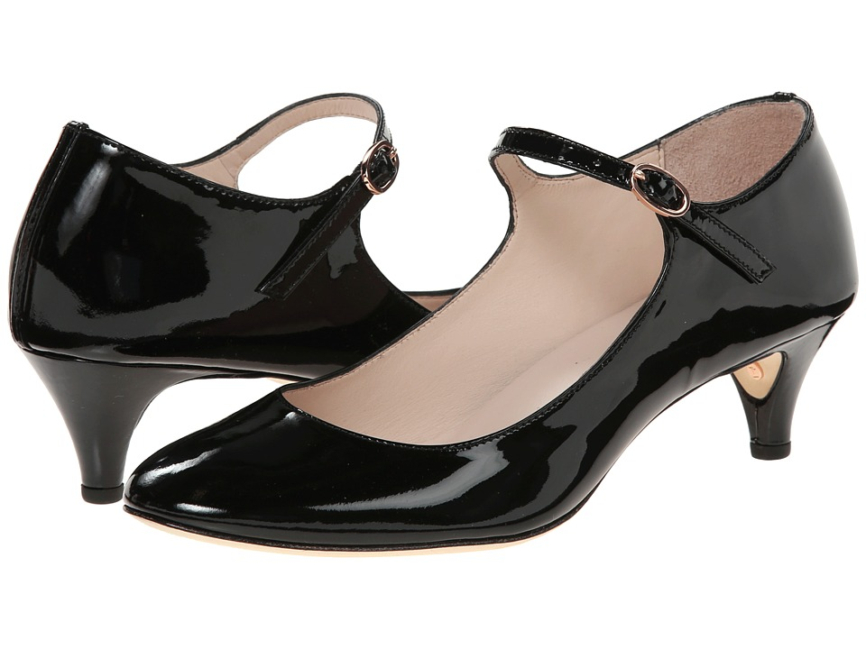 Repetto - Belita (Patent Black) Women's 1-2 inch heel Shoes