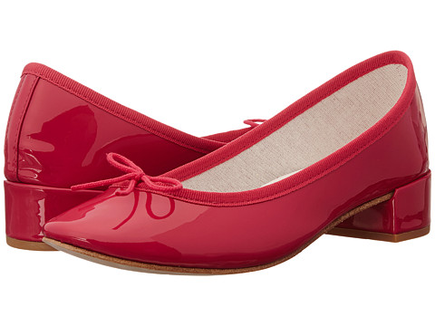 Repetto - Camille (Patent Dark Pink) Women