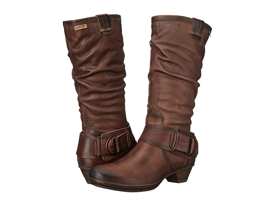 Pikolinos - Brujas 801-9514F (Chocolate) Women's Boots