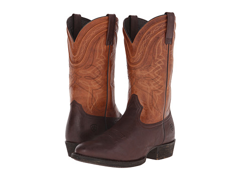 Ariat - Comeback (Sturdy Brown/Copper) Cowboy Boots