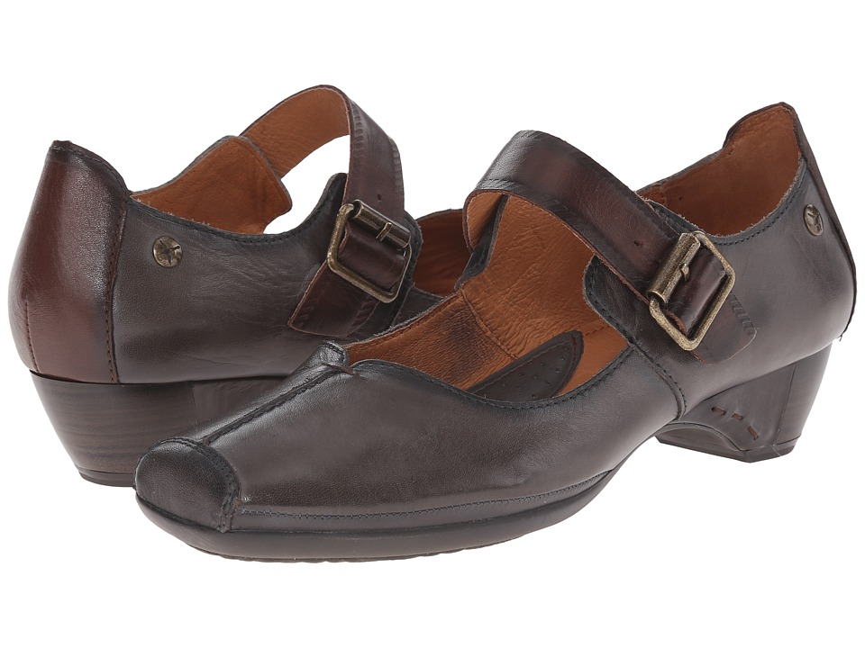 Pikolinos - Gandia 849-7033 (Lead) Women's Maryjane Shoes