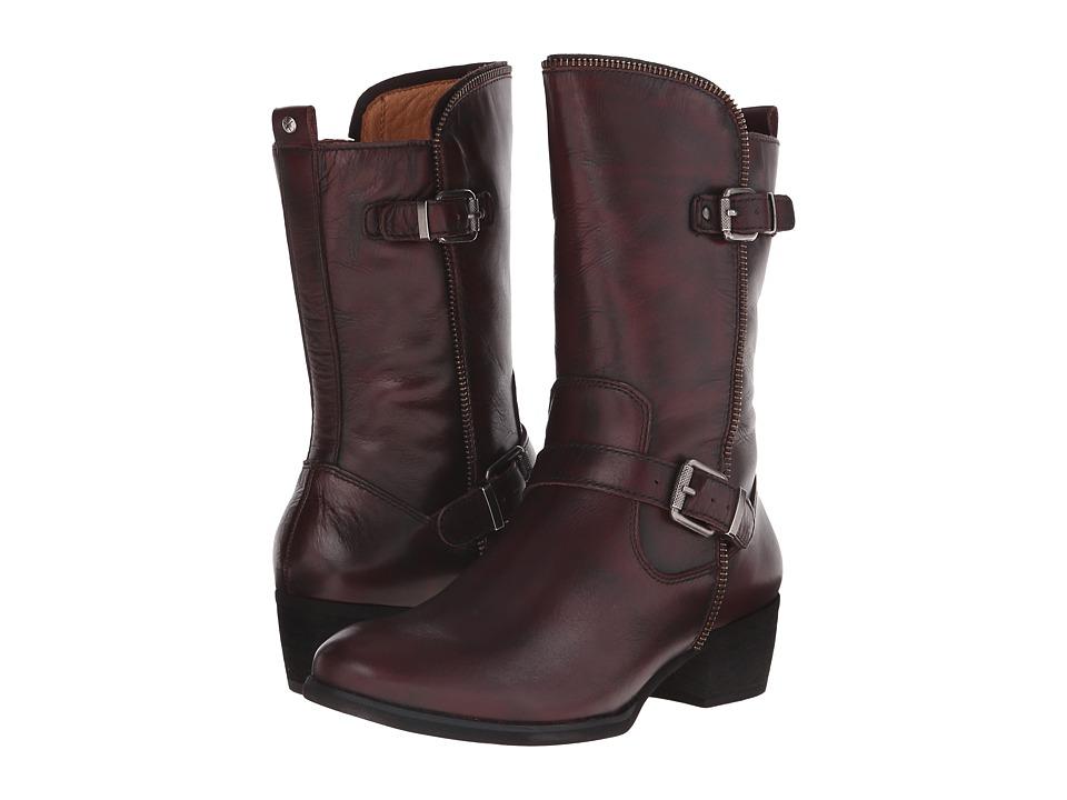 Pikolinos - Hamilton W2E-9559AA (Garnet) Women's Boots