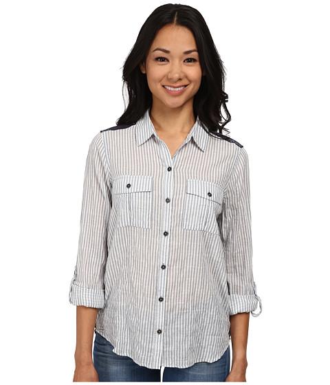 Seven7 Jeans - Railroad Stripe Top (Navy) Women