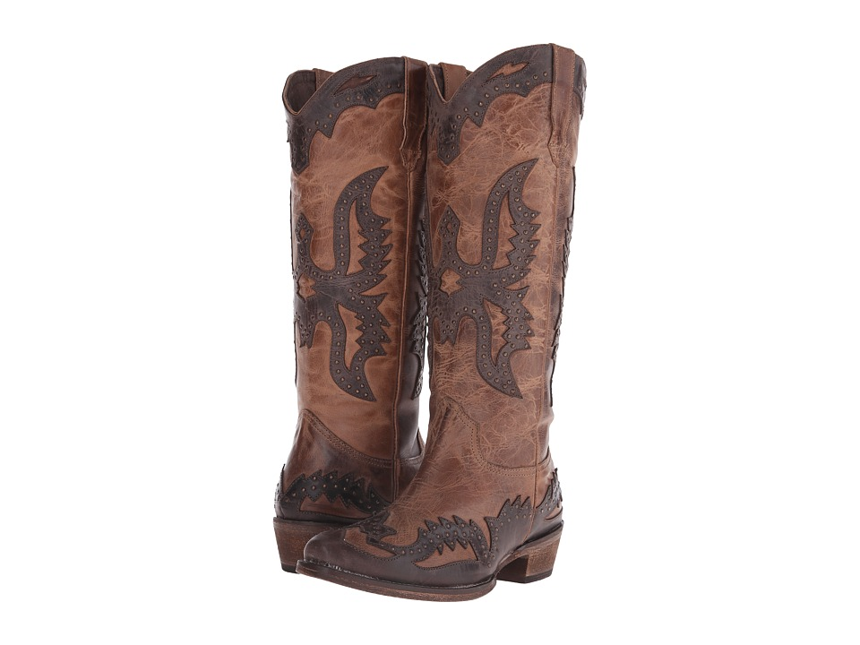 Roper Dakota (Tan) Cowboy Boots