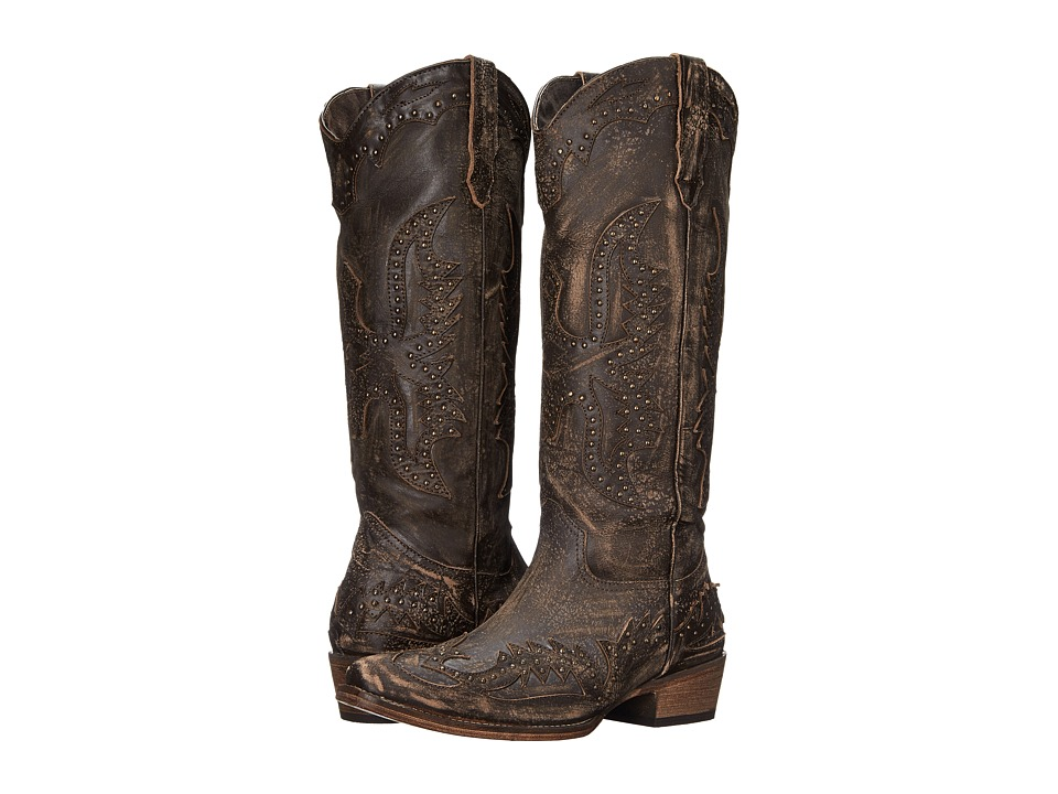 Roper Dakota (Sanded Brown) Cowboy Boots