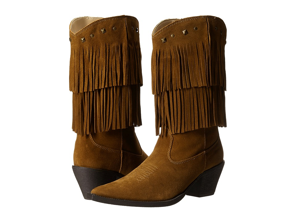 Roper Short Stuff (Tan) Cowboy Boots