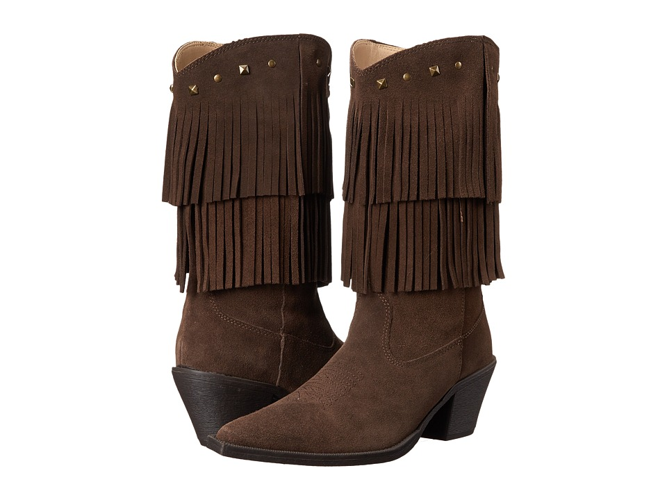 Roper Short Stuff (Brown) Cowboy Boots