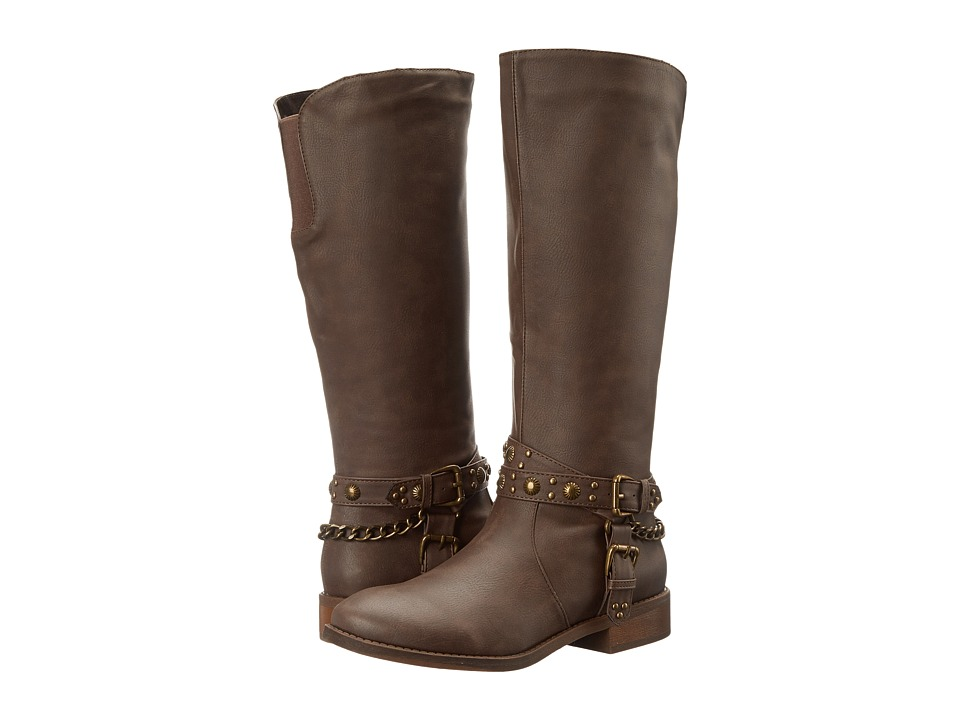 Roper Tied (Brown) Cowboy Boots