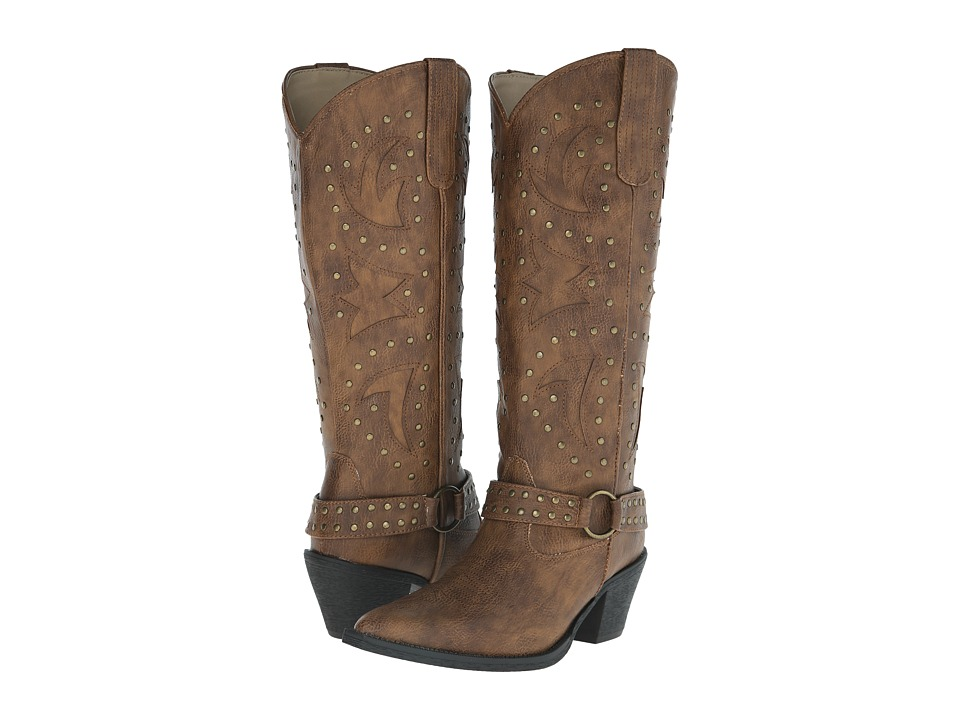 Roper - Look At Me (Tan) Cowboy Boots