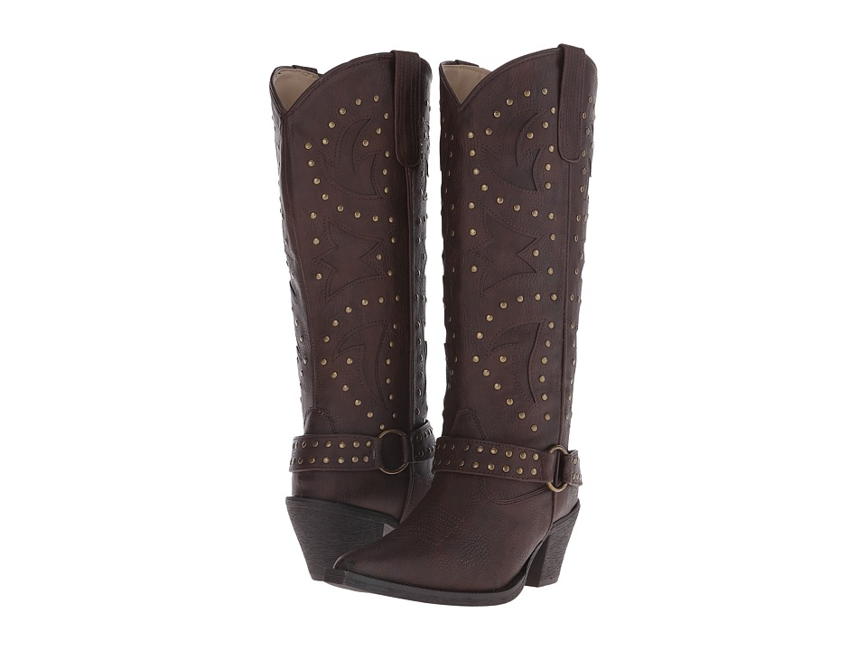 Roper - Look At Me (Brown) Cowboy Boots