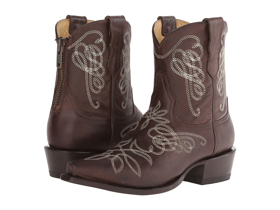 Stetson - Adelle (Unique Embroidered Brown) Women
