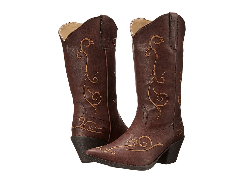 Roper - Jane (Brown) Cowboy Boots