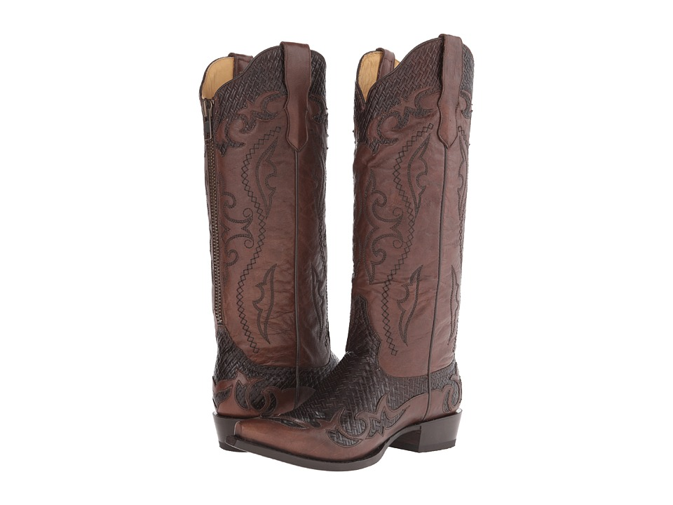 Stetson - Bailey (Brown Basket Weave) Women's Boots