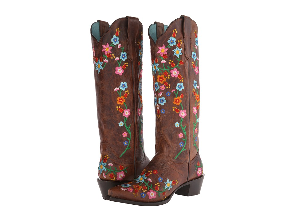 Stetson Flora (Burnished Brown/Floral) Women