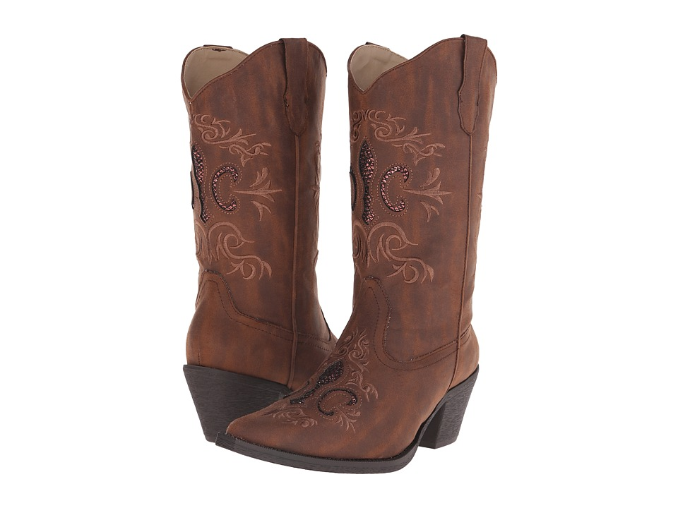 Roper - CC (Brown) Cowboy Boots