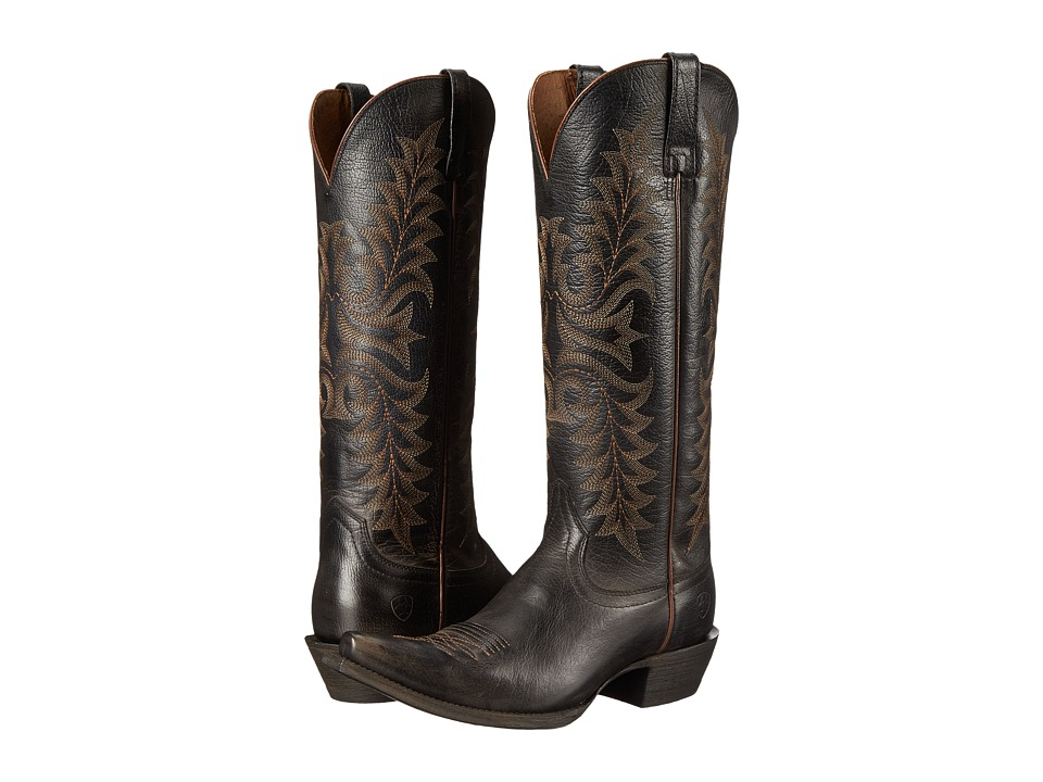 Ariat Revel (Rustic Black) Cowboy Boots