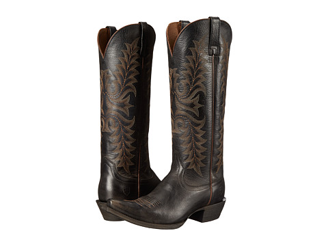 Ariat - Revel (Rustic Black) Cowboy Boots