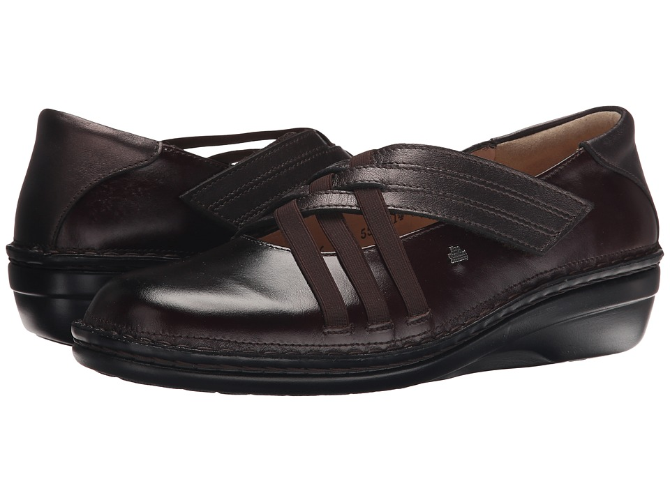 Finn Comfort - Evanston-S (Kaffee Senegal/Shelby) Women's Shoes