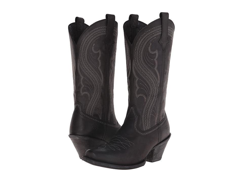 Ariat Lively (Pitch Black) Cowboy Boots