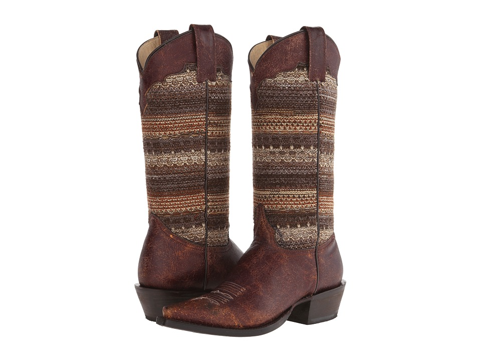 Roper - Avril (Brown) Cowboy Boots