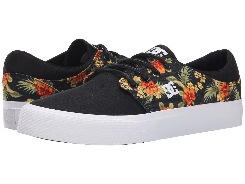DC - Trase SP (Black Graphic) Skate Shoes