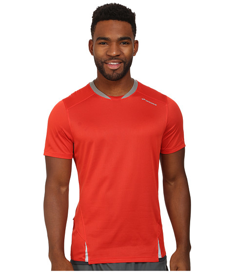 Brooks - Infiniti Short Sleeve Top (Mars/Concrete) Men