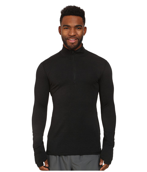 Brooks - Heater Hog 1/2 Zip Top (Black) Men