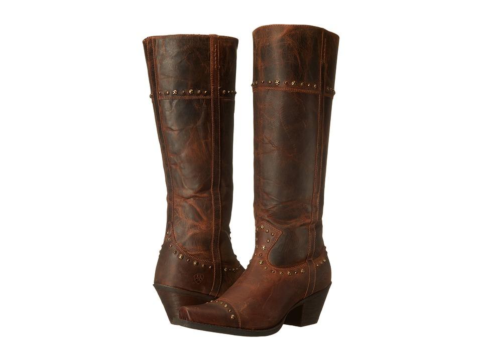 Ariat - Marvel (Sassy Brown) Cowboy Boots