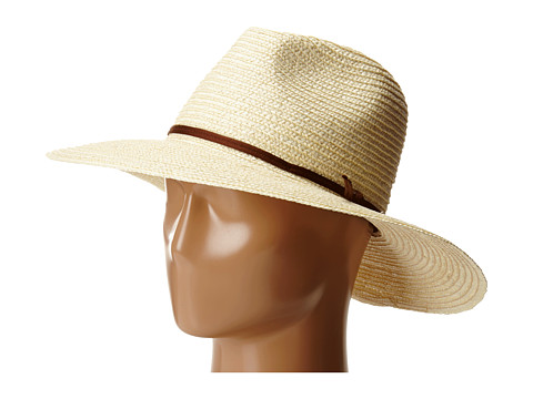 Brixton - Bristol Hat (Cream/Brown) Traditional Hats