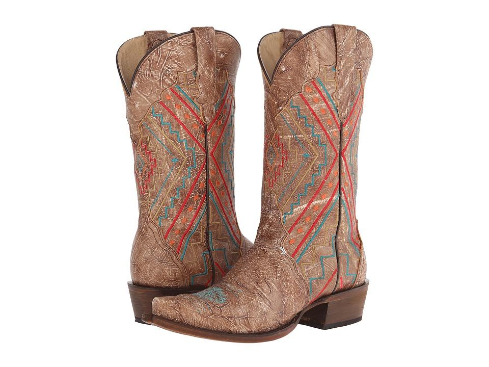 Roper - Southwest (Brown) Cowboy Boots