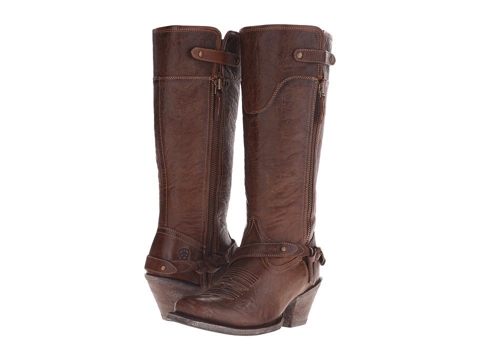 Ariat - Wild Flower (Wood) Cowboy Boots
