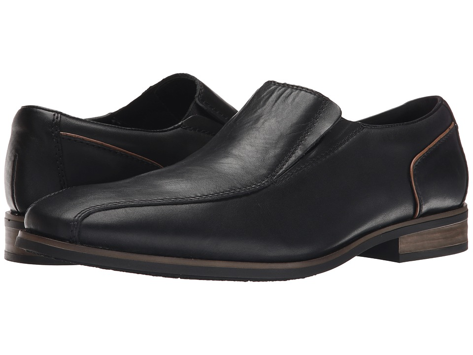 Rieker - 10652 (Nero Clarino/Braun Kid) Men's Shoes
