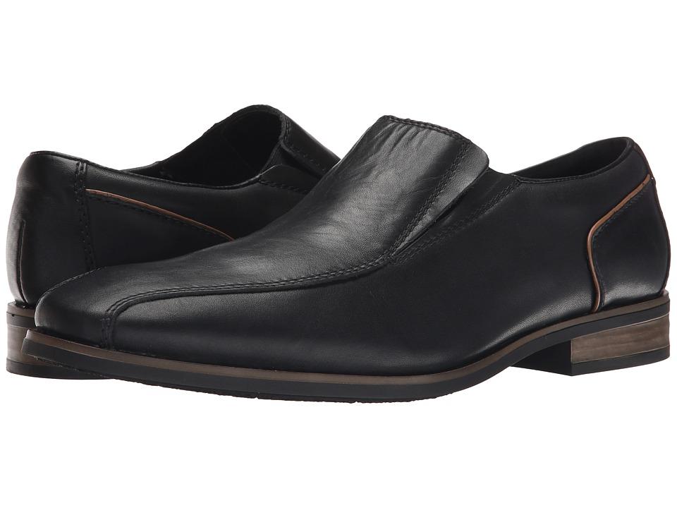 Rieker - 10652 (Nero Clarino/Braun Kid) Men's Shoes