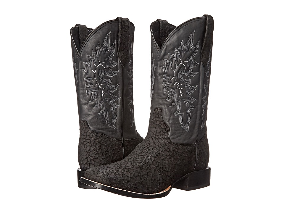 Stetson - Shield (Crackle Black) Men's Boots