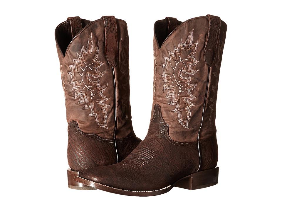 Stetson - Shield (Brown Bull) Men's Boots