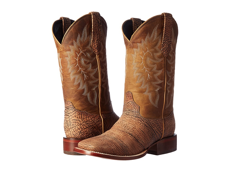 Stetson - Shield (Tan Bull) Men's Boots