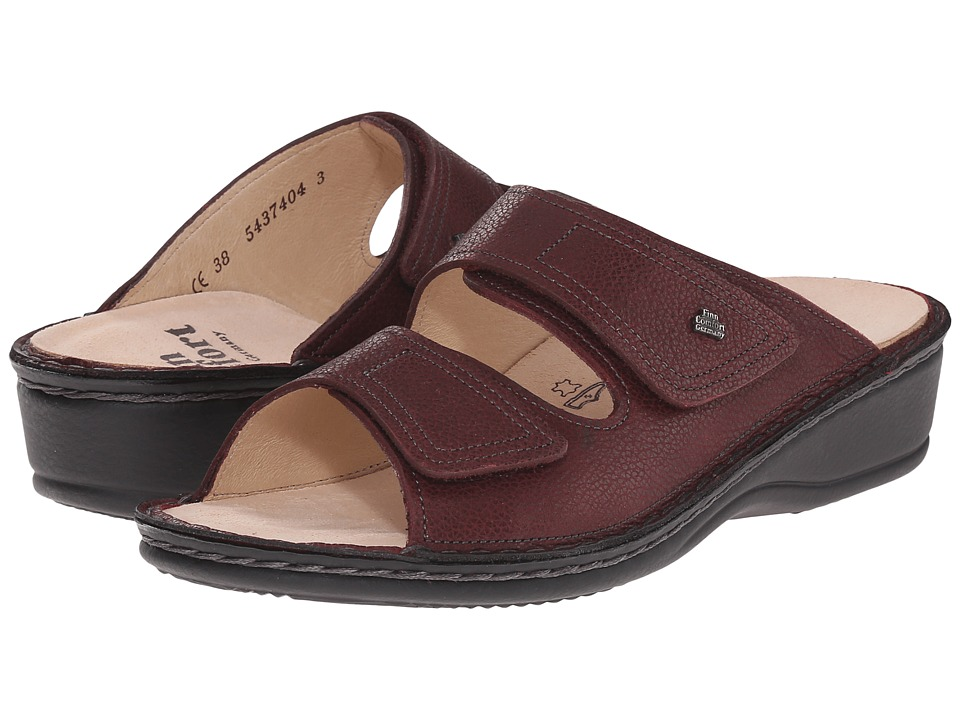 Finn Comfort - Jamaika-S (Berry Longbeach) Women's Slide Shoes