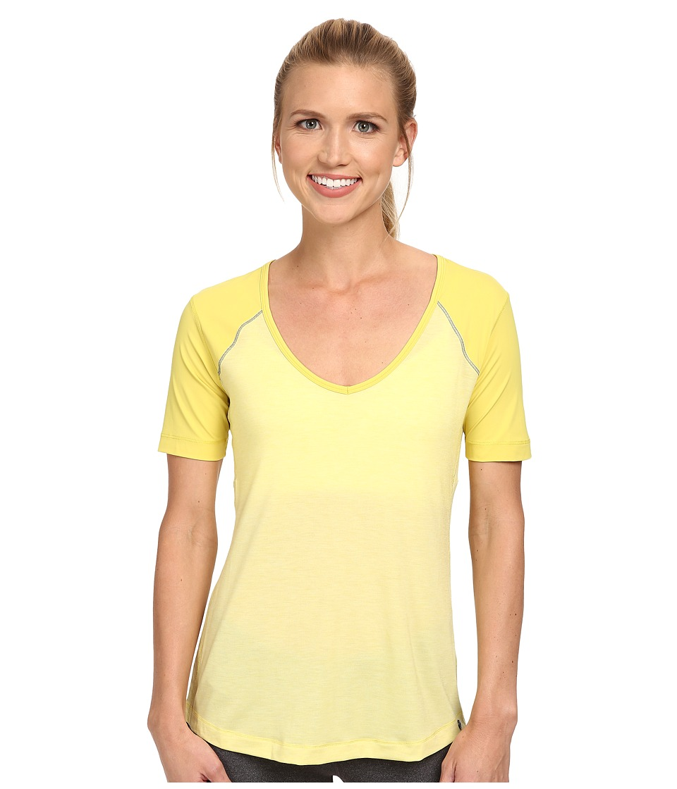 Brooks - PureProject Short Sleeve Top (Heather Corona) Women's Workout