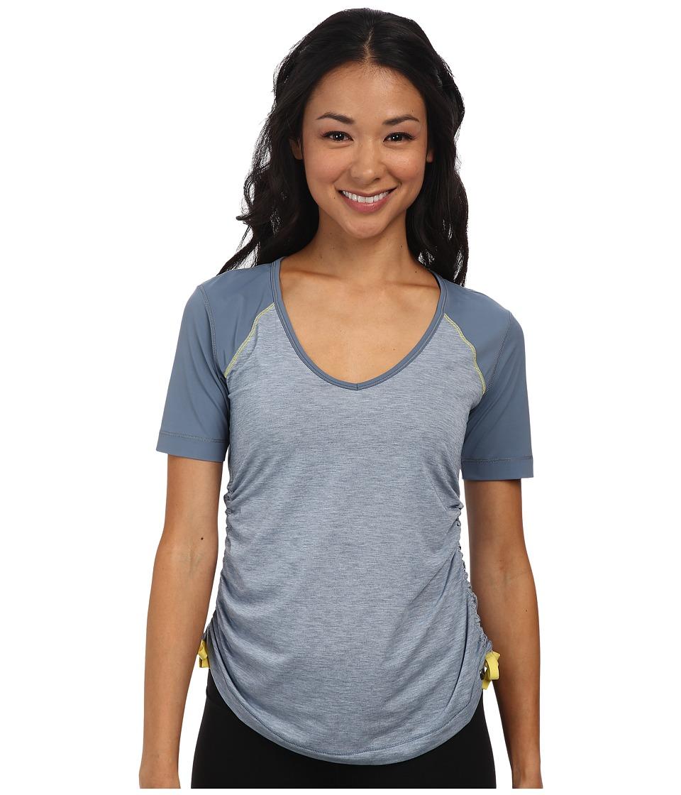 Brooks - PureProject Short Sleeve Top (Storm) Women's Workout
