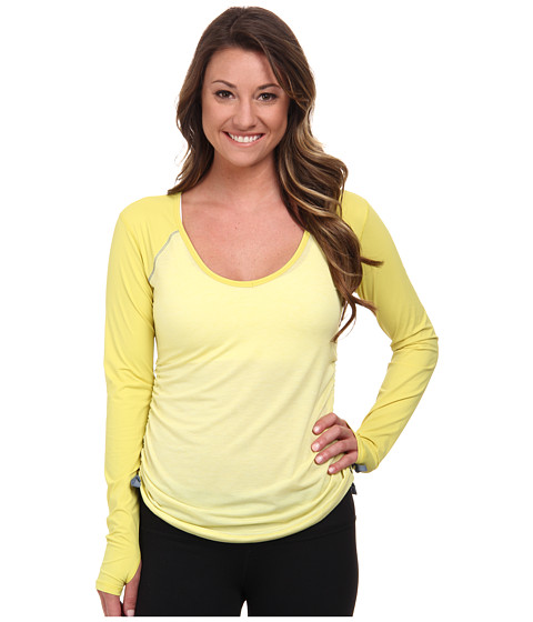 Brooks - PureProject Long Sleeve Top (Heather Corona) Women's Long Sleeve Pullover