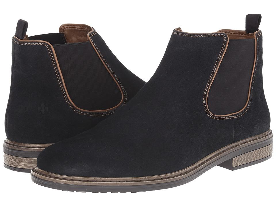 Rieker - 37682 (Pazifik Samtcalf/Braun Kid) Men's Boots