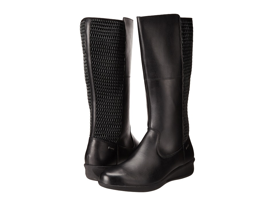 Aravon - Lillian-AR (Black) Women's Zip Boots