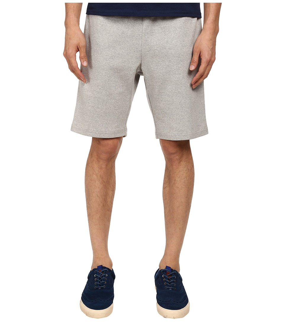 Mark McNairy New Amsterdam - Drawstring Shorts (Heather Grey) Men