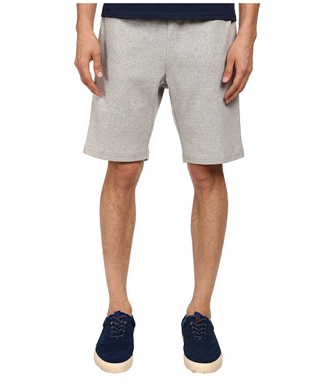 Mark McNairy New Amsterdam - Drawstring Shorts (Heather Grey) Men's Shorts