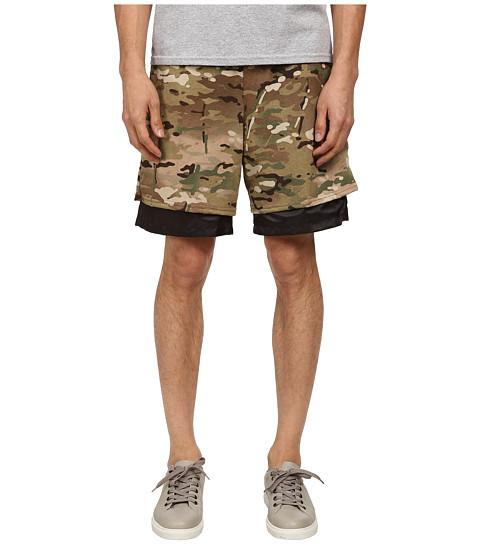 Mark McNairy New Amsterdam - Party Hard Shorts (Multi Camo/Black) Men