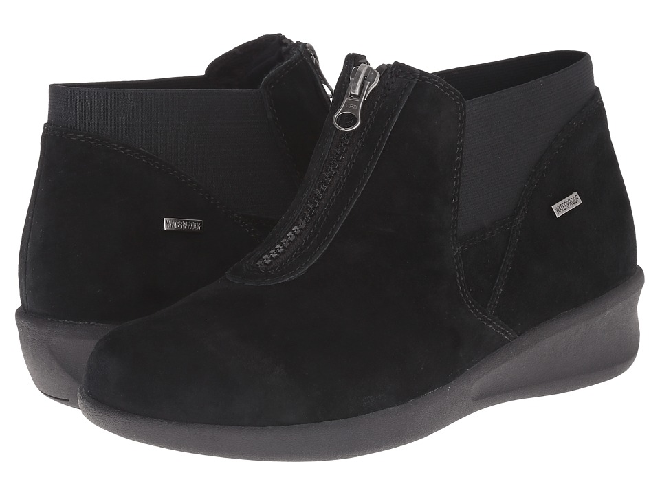 Aravon Laurel-AR (Black Suede) Women