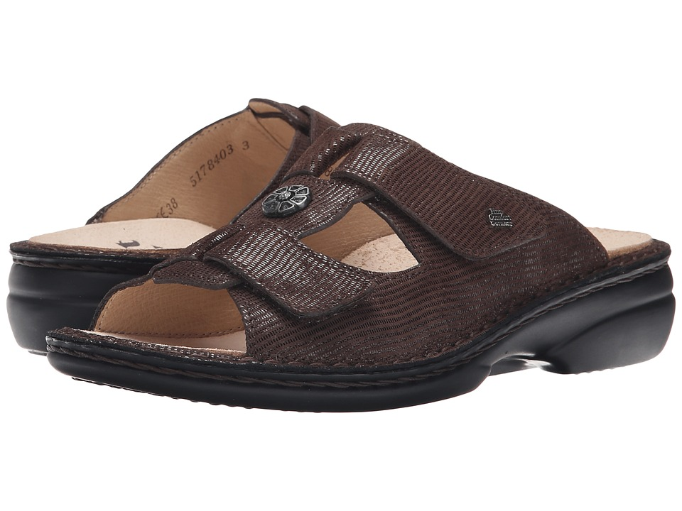 Finn Comfort - Pattaya - 2558 (Dark Brown Valencia) Women's Sandals