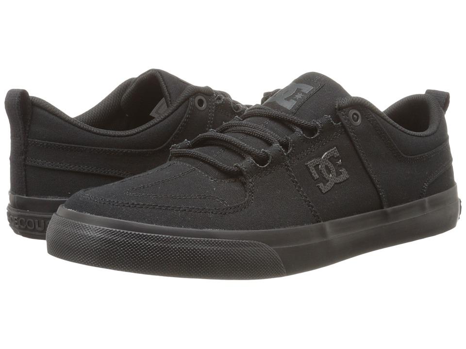 DC - Lynx Vulc TX (Black/Black/Black) Skate Shoes